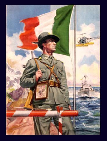 La guardia di finanza for Bandiera di guerra italiana